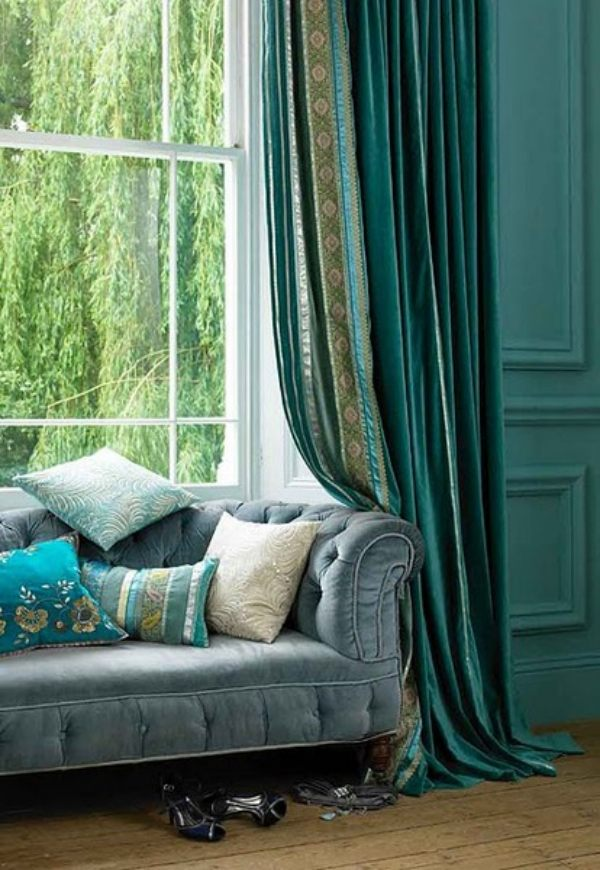 beautiful curtains for living room and tips on choosing them,