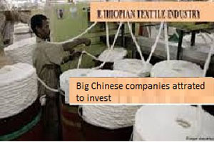 Big Chinese companies in textile and manufacturing industries to invest in Ethiopia