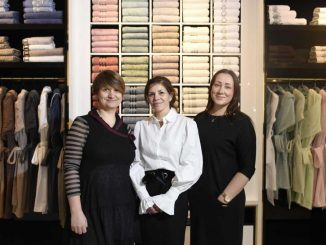 Luxury Greek textile brand opens store in Greenwich